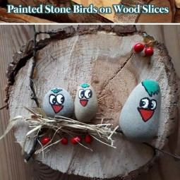 Diy home decor ideas with painted pebbles rocks 17.jpg