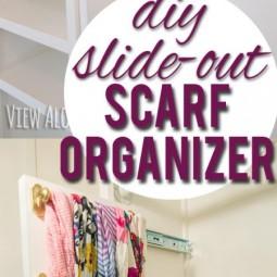 Diy slide out scarf belt tie organizer e1463073800420.jpg