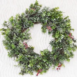 Faux boxwood christmas wreath finish center 1170x778.jpg