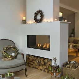 Peninsula fireplace design ideas New Best 25 3 sided fireplace ideas on Pinterest