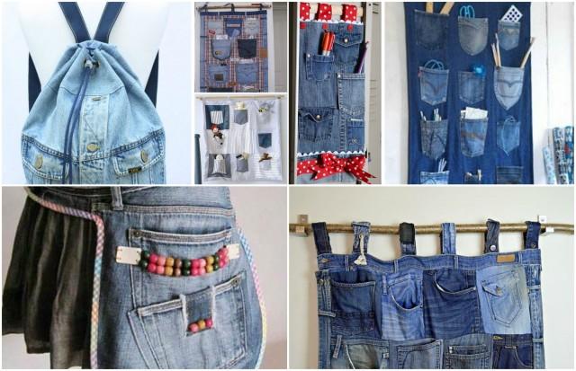20 super einfache Upcycling-Ideen aus alten Jeans :) - nettetipps.de