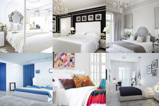 Weißes Schlafzimmer auf 15 Arten und Weisen - nettetipps.de