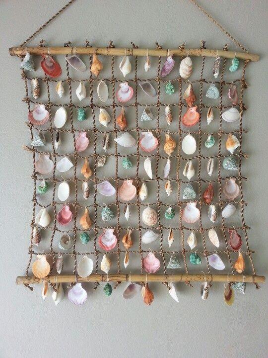 Seashell home decor ideas