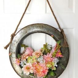 13 diy spring wreath ideas homebnc.jpg