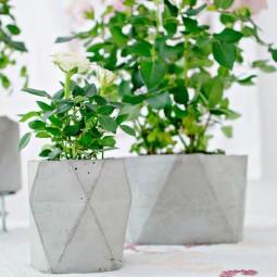 Moderne Blumentöpfe moderne blumentöpfe aus beton nettetipps de