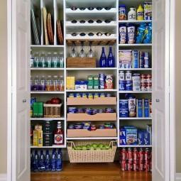 ordnung in speisekammer schaffen 15 tolle ideen. Black Bedroom Furniture Sets. Home Design Ideas