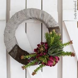 22 diy spring wreath ideas homebnc.jpg