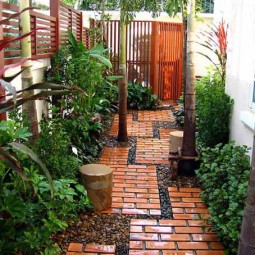25 lovely diy garden pathway ideas 03.jpg