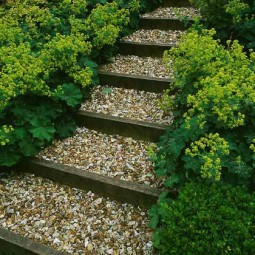 25 lovely diy garden pathway ideas 04.jpg