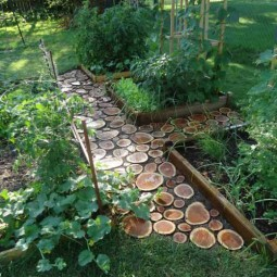 25 lovely diy garden pathway ideas 06.jpg