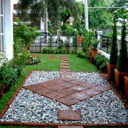 25 lovely diy garden pathway ideas 09.jpg