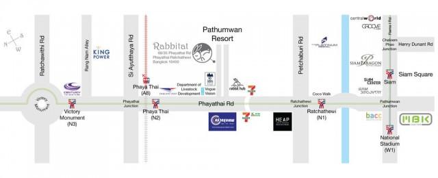 Rabbitat Hostel Bangkok Thailand