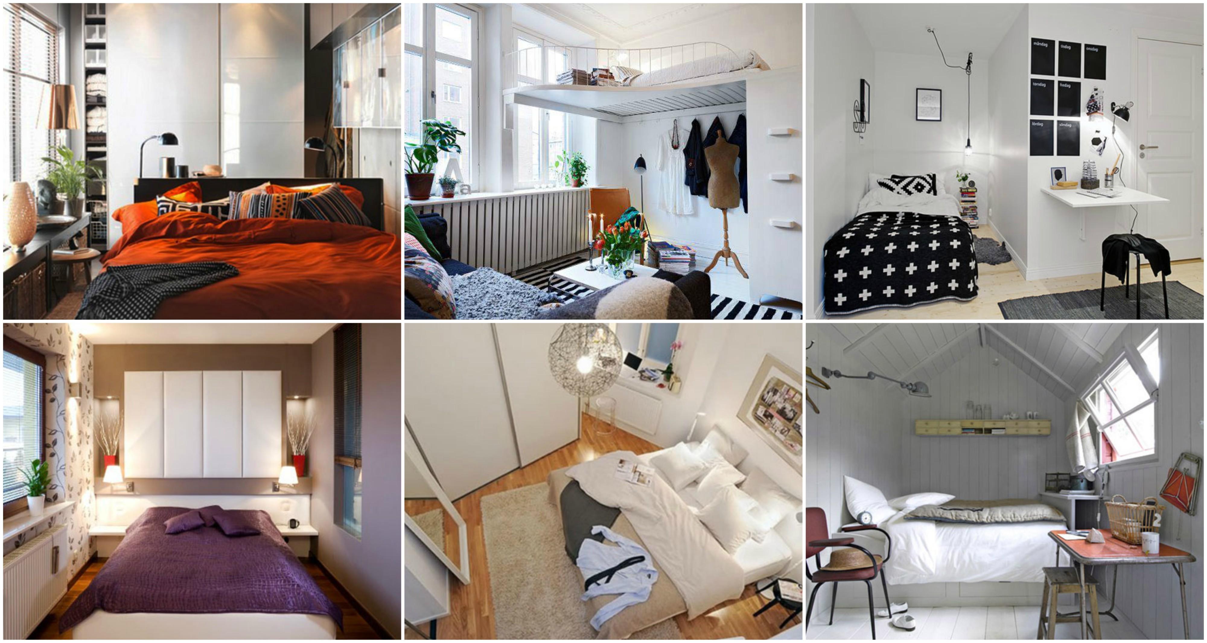 Kleines schlafzimmer platzsparend einrichten - Kleines schlafzimmer ideen ...