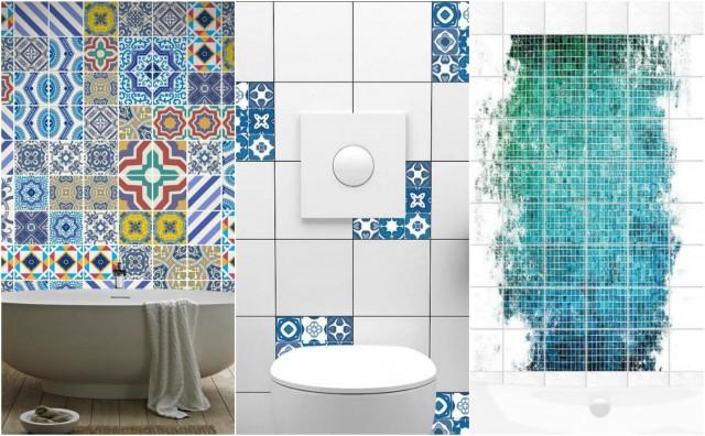 Fliesenaufkleber für Bad – 16 kreative Ideen zur Erfrischung ...