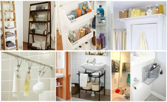 Mehr platz im badezimmer schaffen 15 platzsparende ideen for Ideen ordnung bad