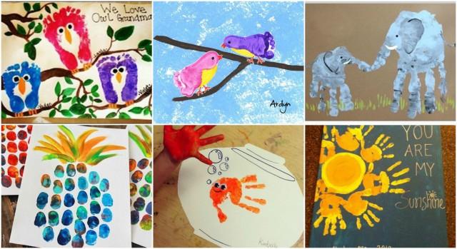 20 Kreative Ideen Mit Hand Und Fußabdrücken Für Die Kleinsten