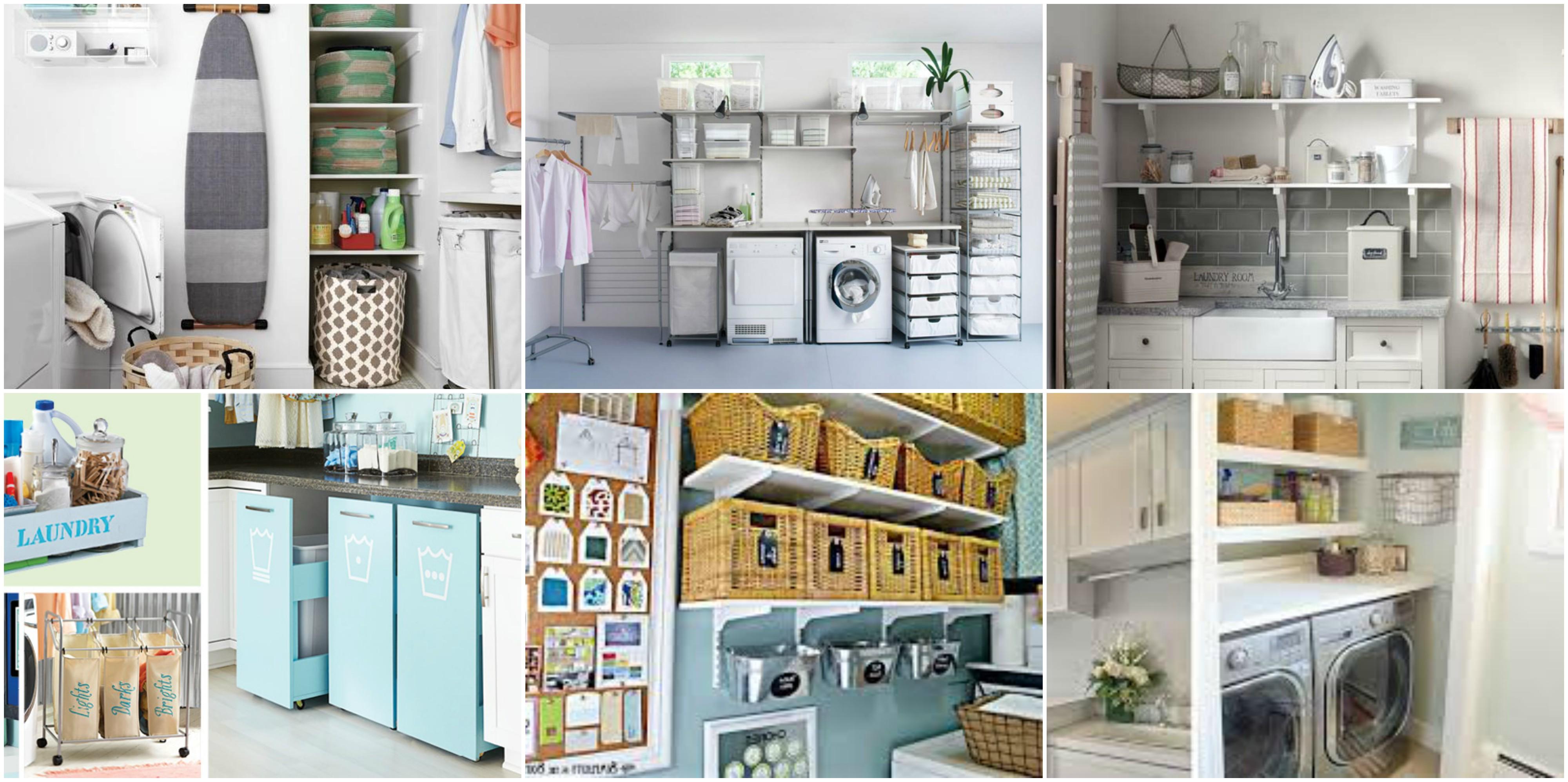 Waschküche platzsparend organisieren und einrichten - tolle ...