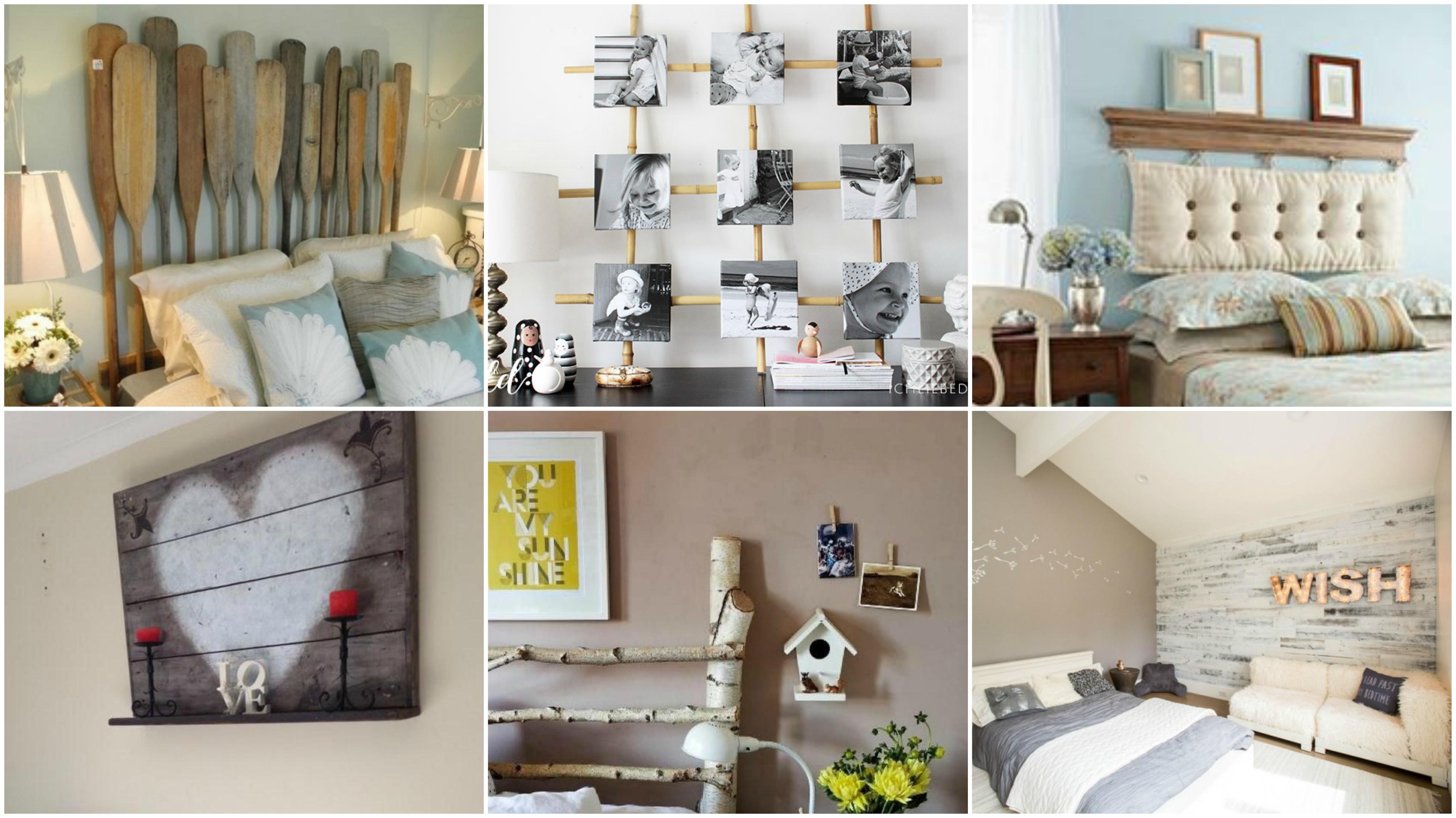 schlafzimmer deko 15 super einfache ideen zum nachmachen. Black Bedroom Furniture Sets. Home Design Ideas