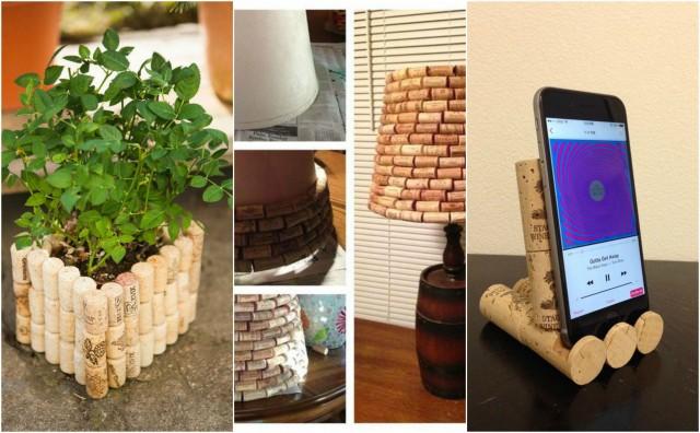Upcycling Ideen 12 coole upcycling ideen aus weinstopfen nettetipps de