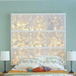 Coole diy deko ideen schlafzimmer mit diy kopfteil als wanddekoration e1438856458318.jpg