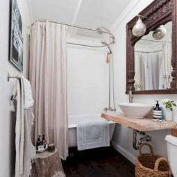 Kleines Badezimmer gemütlich und praktisch einrichten - nettetipps.de