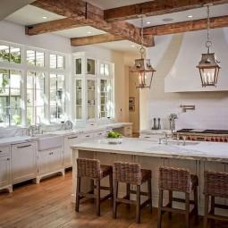 Gorgeous farmhouse kitchen design decor ideas 32 1.jpg