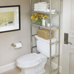 Install shelving unit above the toilet.jpg