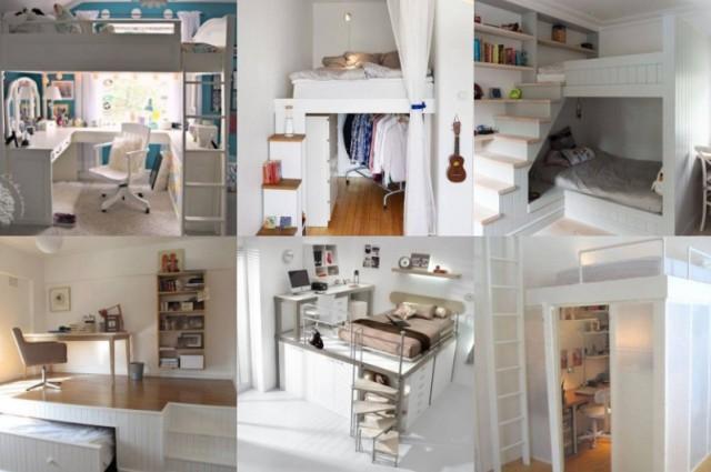 Platzsparende Ideen Für Ein Kleines Schlafzimmer