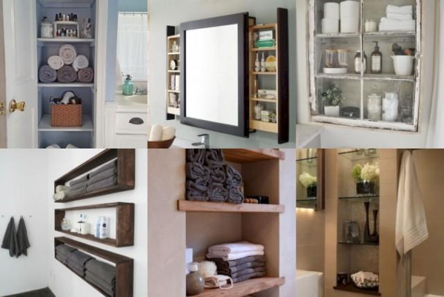 18 praktische Aufbewahrungsideen fürs Badezimmer - nettetipps.de