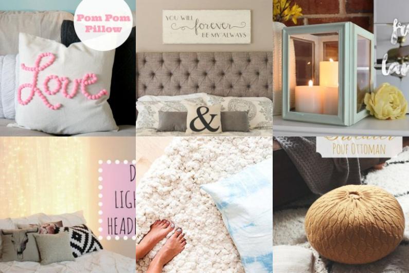diy dekorationen f r ein warmes zuhause. Black Bedroom Furniture Sets. Home Design Ideas