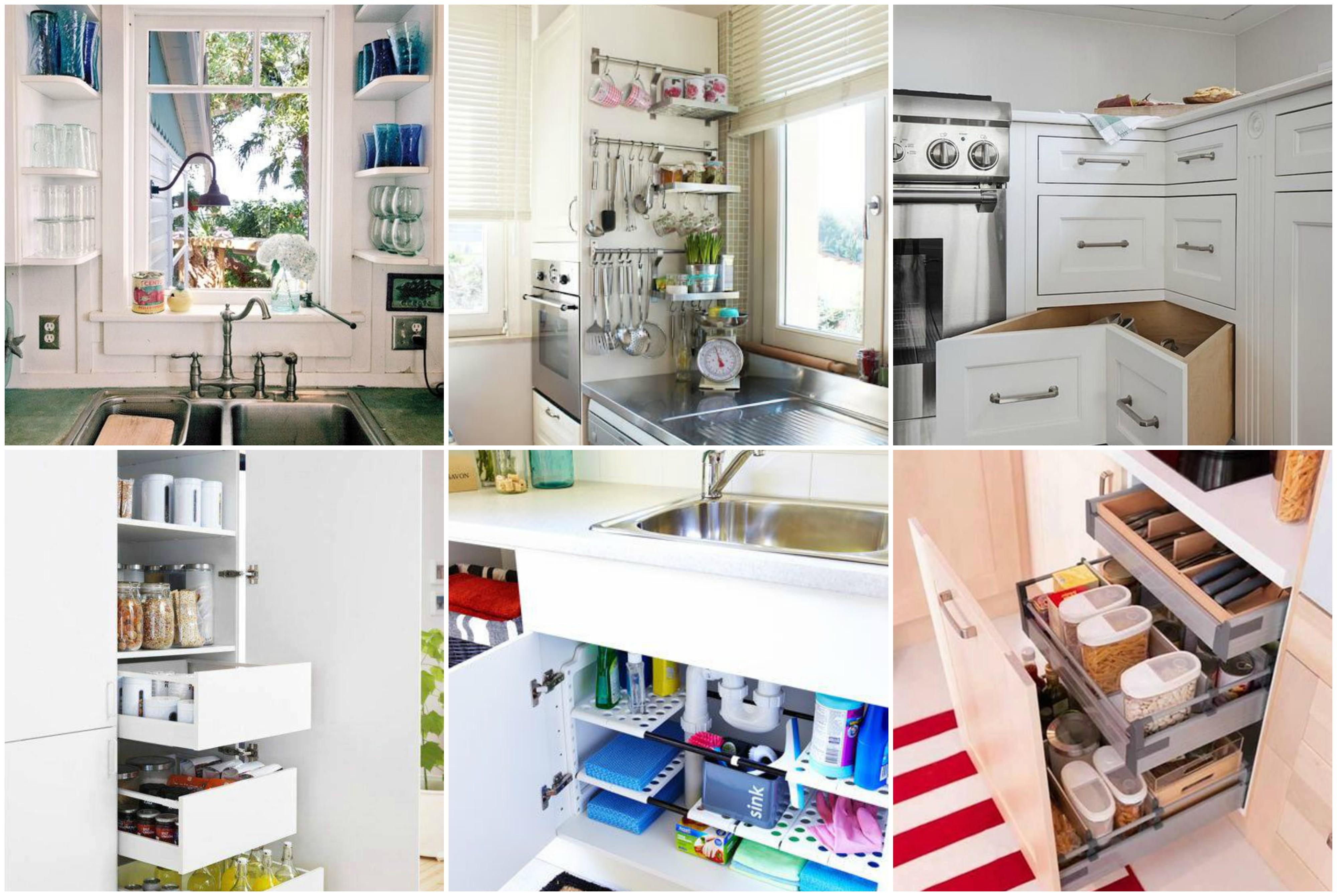 k che platzsparend einrichten tolle ideen f r jede wohnung. Black Bedroom Furniture Sets. Home Design Ideas