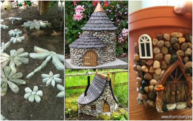 Dekoration Im Garten Fantastische Diy Ideen Aus Steinen