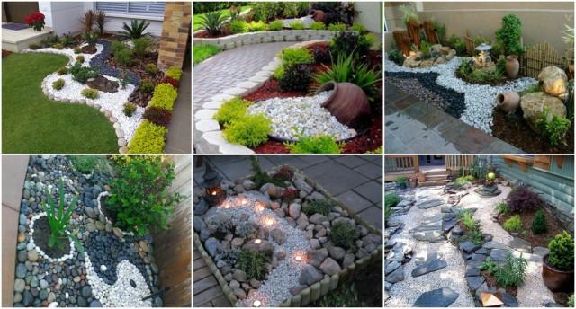Garten Mit Steinen Gestalten Und Dekorieren Nettetippsde