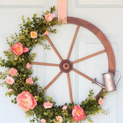 02 rustic farmhouse wreath ideas homebnc.jpg