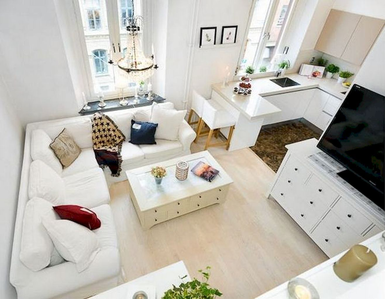 Ein kleines Wohnzimmer hübsch und bequem einrichten - nettetipps.de