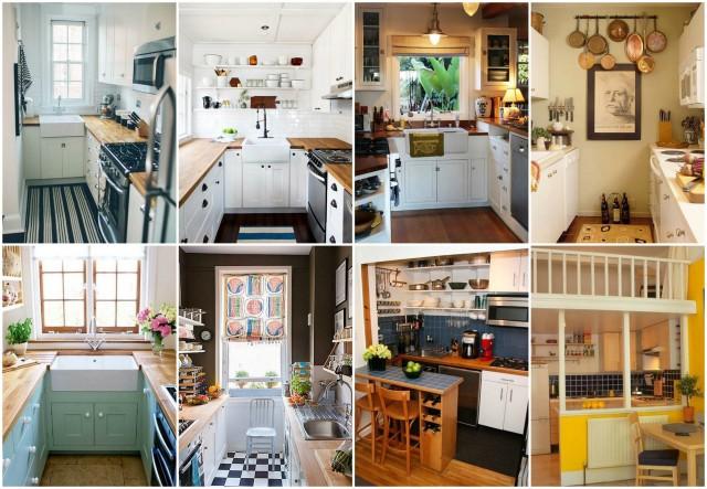 Extrem Stilvoll und platzsparend: Einrichtungsideen für eine kleine Küche VH16