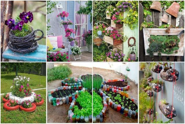 50 super einfache und kreative DIY-Ideen für jeden Garten ...