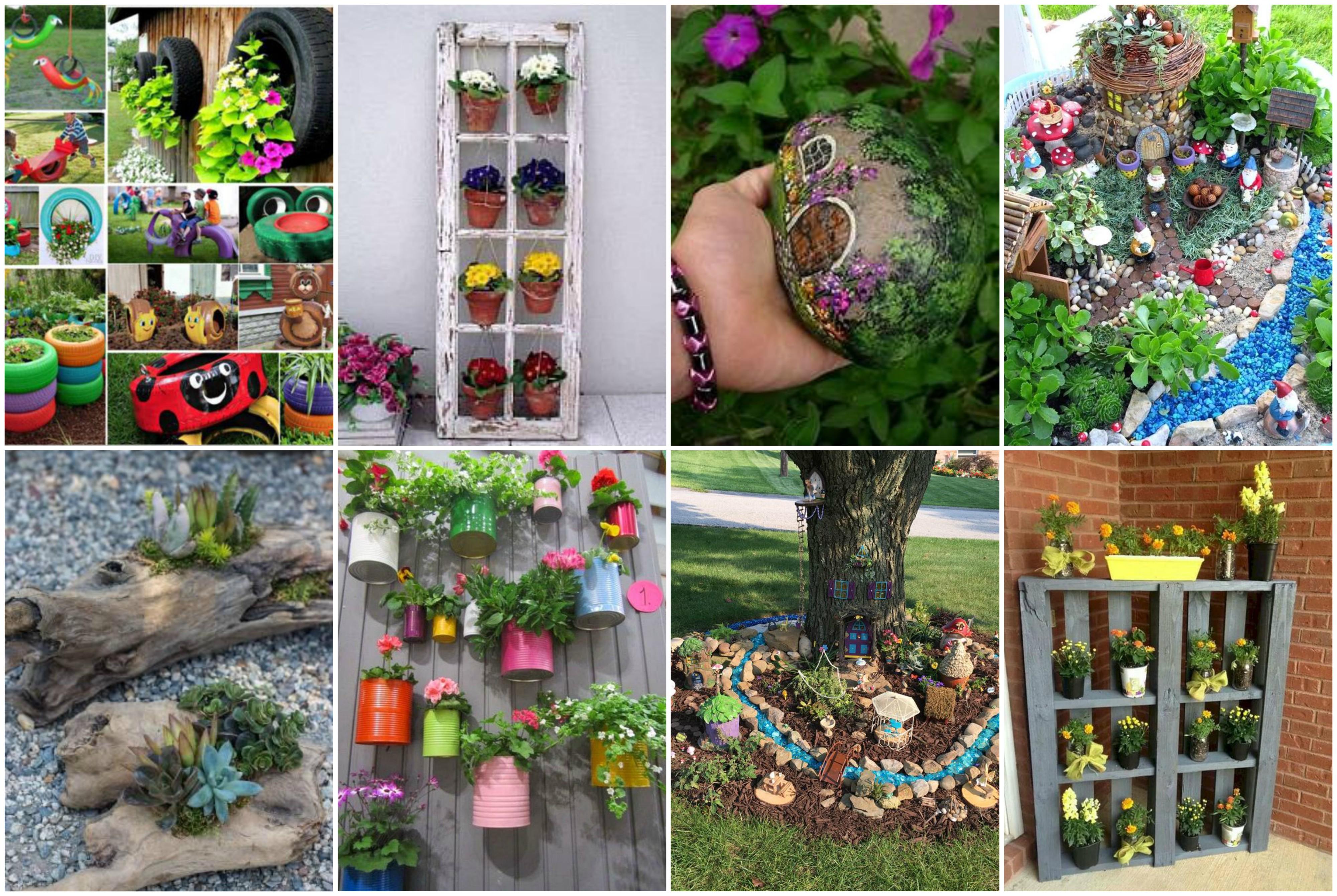 Einfache und coole DIY Gartenprojekte zum Nachmachen ...