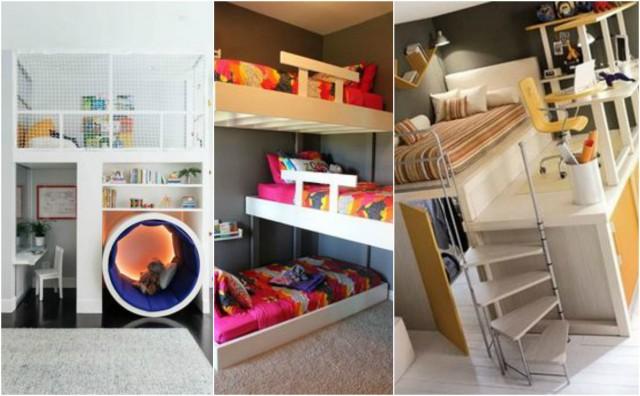 15 praktische Ideen für ein kleines Kinderzimmer ...
