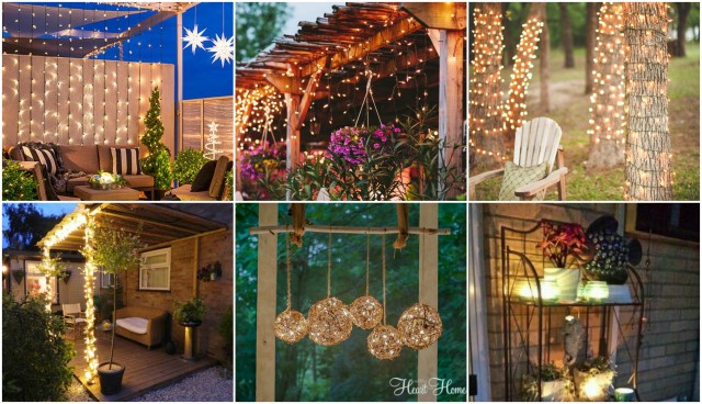 Zauberhafte Ideen Fur Stimmungsvolle Gartenbeleuchtung