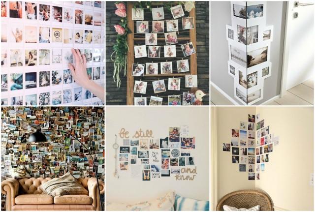 Wanddeko Diy diy wanddeko aus fotos und bildern :) - nettetipps.de