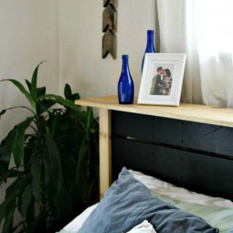 Diy Pallet Headboard  Build Your Own Pallet Headboard For A King Size  Bed Tutorial  ...