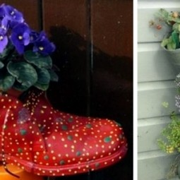 Plantar old shoes again ideas for home garden planters 25 556.jpeg