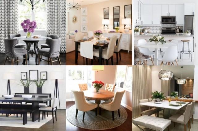 kleines esszimmer stilvoll einrichten. Black Bedroom Furniture Sets. Home Design Ideas