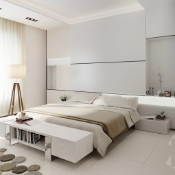 Minimalistisches Schlafzimmer · Minimalist Color Palettes For The Bedroom  1 7b73ff2f6422ff9949ad90b2838d3ca2 ...