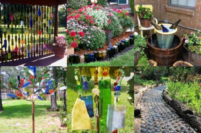 Tolle Upcycling Ideen Mit Weinflaschen Für Den Garten