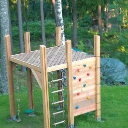 kinderspielplatz im garten selber bauen. Black Bedroom Furniture Sets. Home Design Ideas
