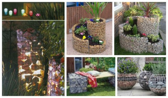 10 Tolle Diy Ideen Gabionen Als Tolle Garten Dekoration