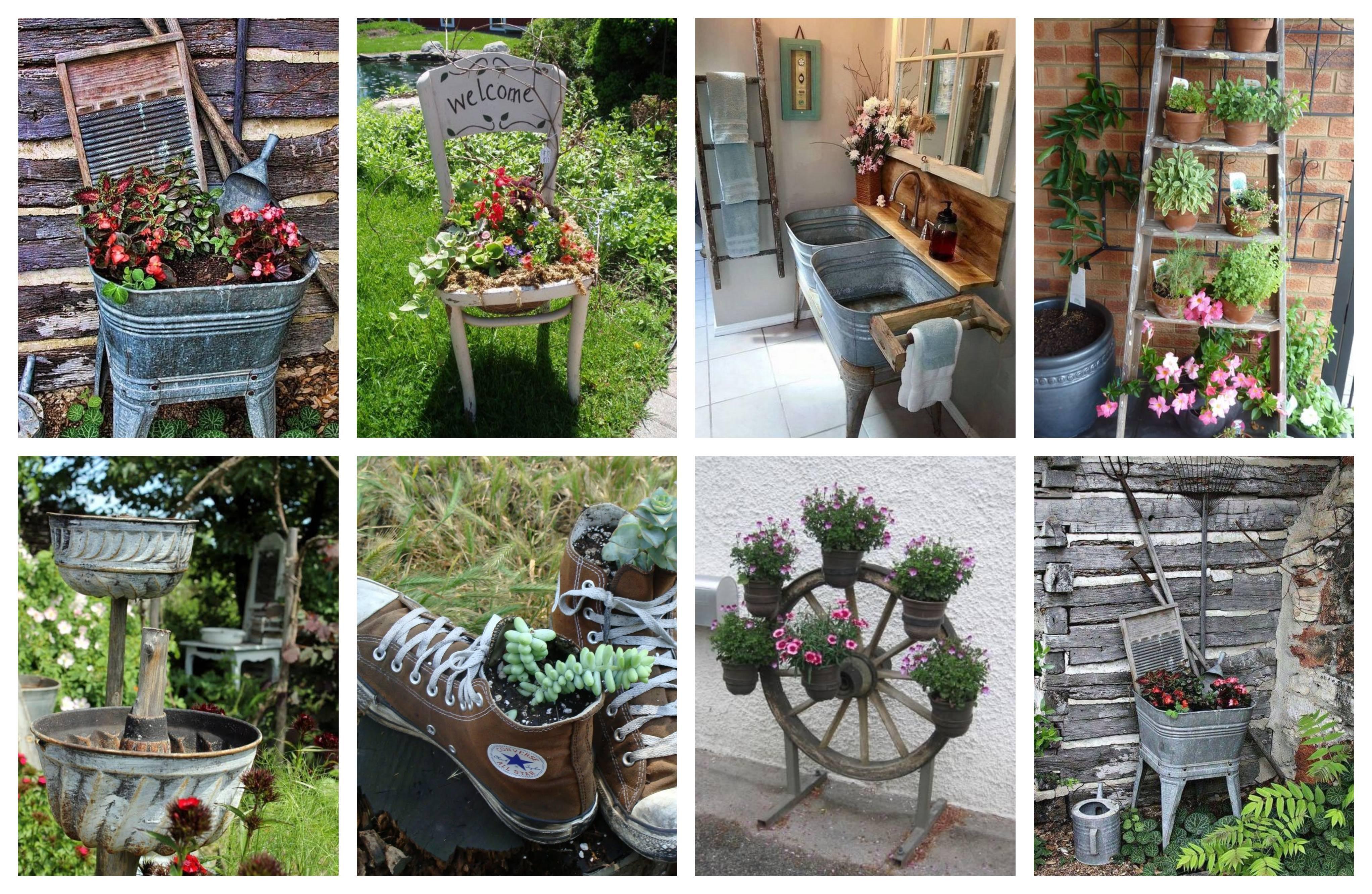 Traumhafte vintage gartendeko billig und stilvoll - Gartendeko vintage ...