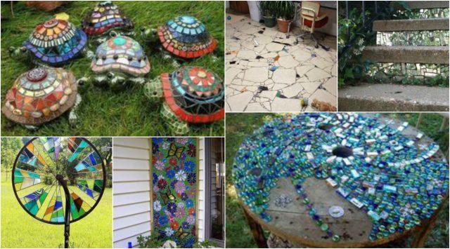 10 Perfekte Diy Ideen Mosaik Dekorieren Im Garten Nettetipps De